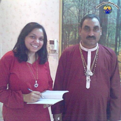 Gurumaa Divyani with Guru Saini