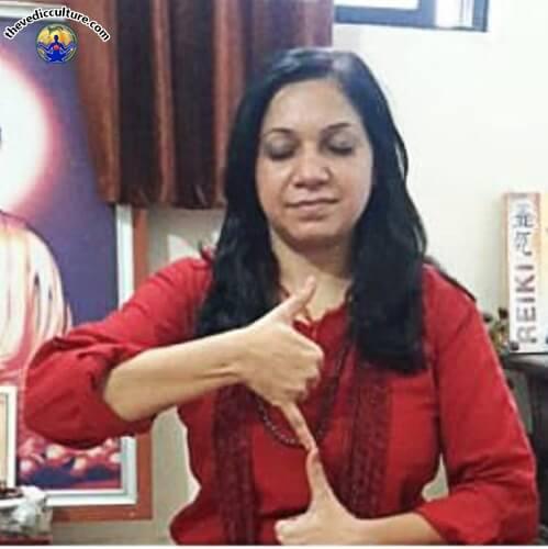 Satyamargi mudra vigyan gesture 6
