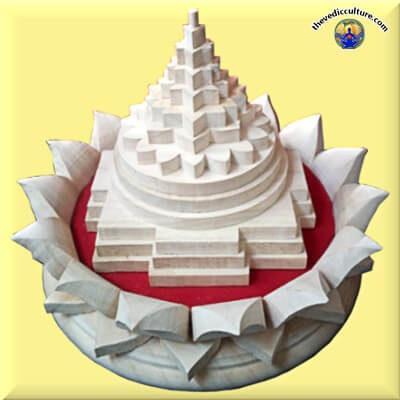 Shri Yantra with Lotus