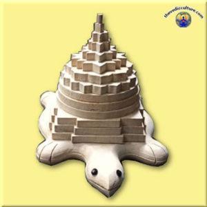 Shri Yantra on turtle